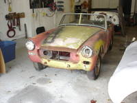 Highlight for album: 1973 MG Midget project car