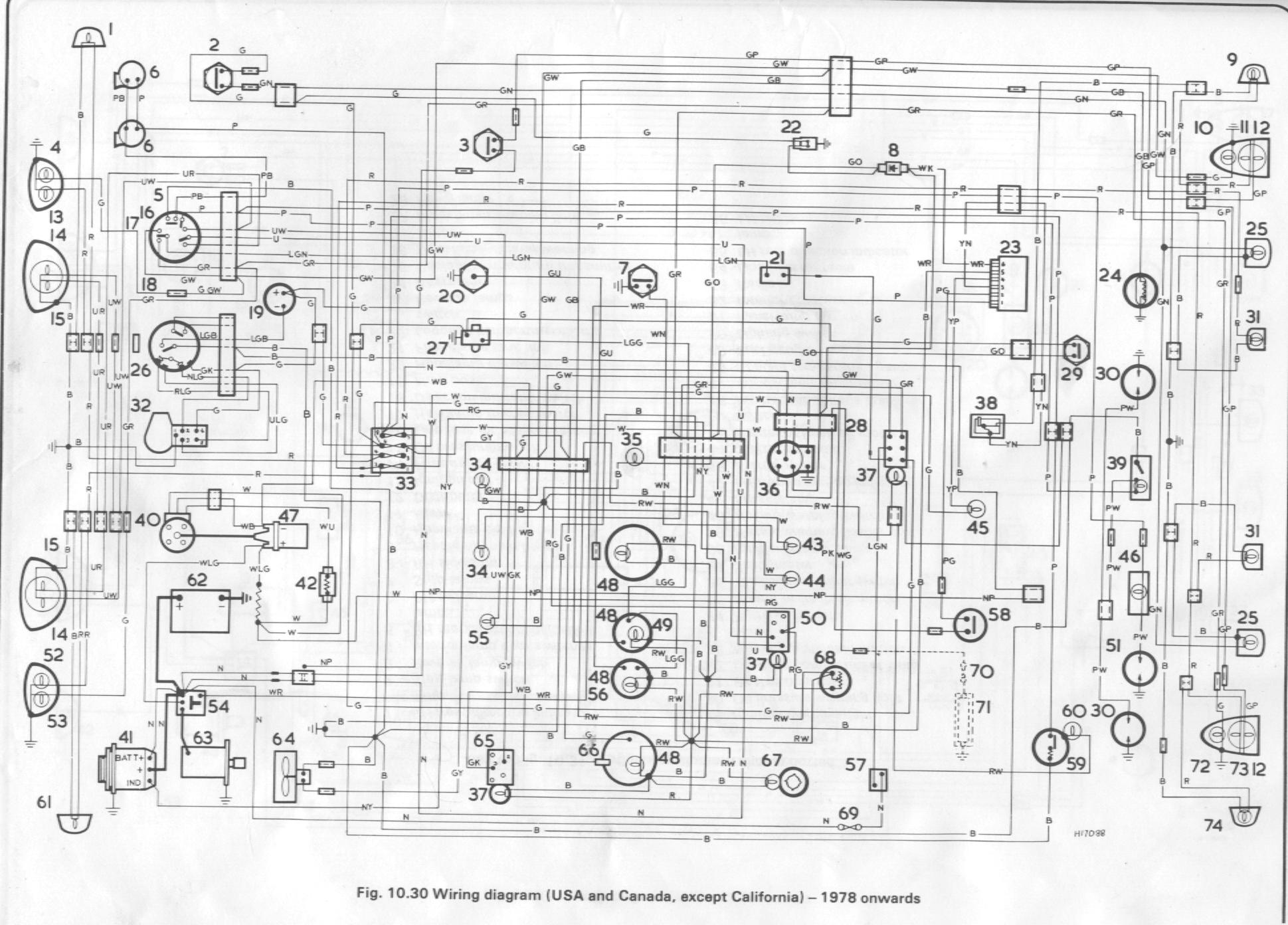 1975 midget wiring diagram 72 midget wiring diagram spritespot.com photos :: 1969 midget mkiii restoration ... #11