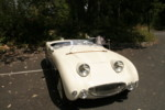 """This is all the info I have on this: """"Racer 100S styled Bugeye just moved to the northwest from California with its owner Dan. Love the conversion of the bonnet. """""""