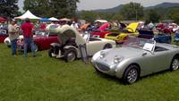 Highlight for album: Blount British Car Show 2012 Townsend Tennessee