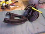 Front suspension was rebuilt by Revarcweld ebay seller in Va. Beach. I added bugeye steering arms and delrin bushings.