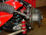frt drv suspension