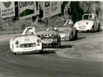 Kat in the 2nd Red Roof Inns Midget leading Runoffs '79... (car HolliTech Team Racing picked up in 2003...)