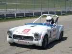 The Car - note the new cage required by current safety regulations...