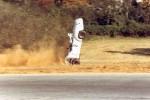 1st Red Roof Inns #2 Midget -- Kat Kizer '78 Runoffs Road Atlanta Turn 1. Kat was banged up but OK, car was destroyed...